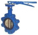 HATTERSLEY Ductile Iron Fully Lugged Butterfly Valve